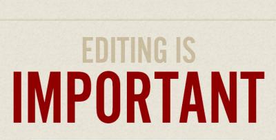 5 tips to polish up your editing skills