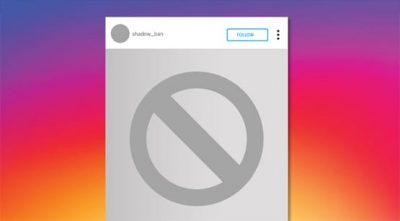 What is an Instagram shadowban?